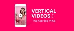 vertikale video is goed voor mobiel