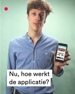 Nu, hoe werkt de applicatie Copy