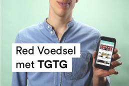 Red voedsel met TGTG video pitch