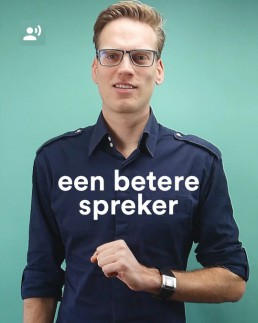 Instructie video word een betere spreker