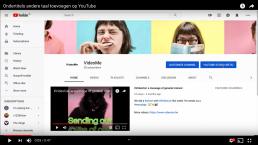Ondertitels en andere taal toevoegen in YouTube Studio beta