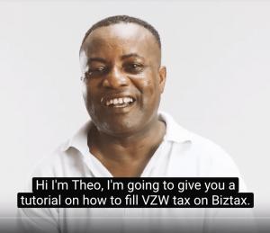 VZW taks invullen op Biztax Faab instructie video tutorial faab sankaa videome video content boost je onderneming