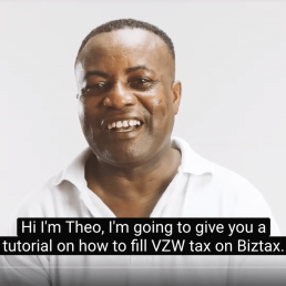 VZW taks invullen op Biztax Faab instructie video tutorial faab sankaa videome video content boost je onderneming
