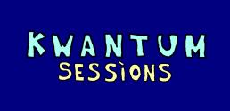 Logo kwantum sessions - blauw