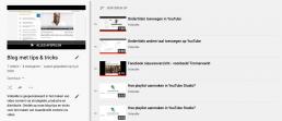 playlist maken in youtube
